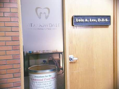 Door to Dental Clinic in Lynnwood